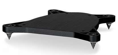 Piega Bodenplatte LTD Premium 3.2, schwarz