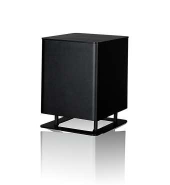Piega T-Micro Aktiv-Subwoofer Aluminium schwarz