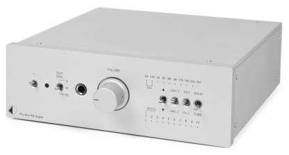Pro-Ject Pre Box RS Digital Vorverstärker Silber
