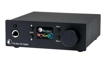 Pro-Ject Pre Box S2 Digital Vorverstärker schwarz