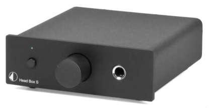 Pro-Ject Head Box S Kopfhörer-Verstärker, schwarz
