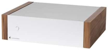Pro-Ject AMP Box DS Mono Amlifier silver/walnut