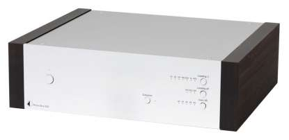 Pro-Ject Phono Box DS2 MM/MC Phono-Preamplifier silver - eucalyptus