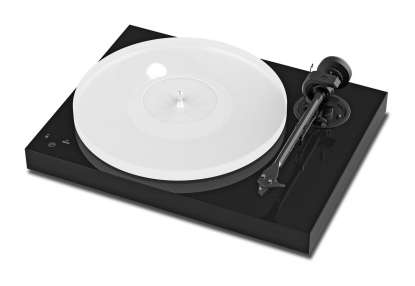 Pro-Ject X1 Plattenspieler mit Ortofon Pick it S2 MM Tonabnehmer Pianolack schwarz
