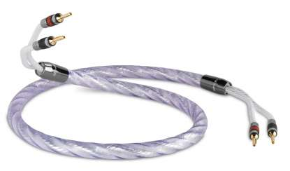 QED Signature Genesis SILVER Spiral Lautsprecherkabel 2x5,5 mm²
