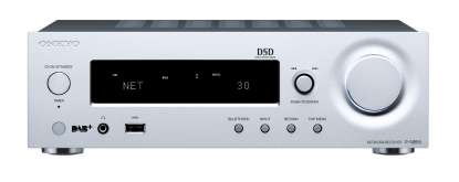 Onkyo R-N855 Network Stereo Receiver silver
