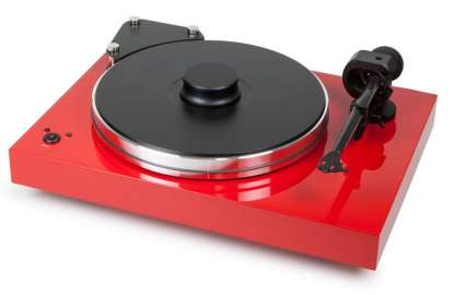 Pro-Ject Xtension 9 Evolution ohne Tonabnehmer Pianolack rot