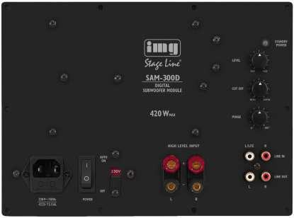 Monacor SAM-300D  Digital Subwoofer-Module