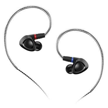 Shanling ME 100 In-Ear Kopfhörer mit wechselbaren Kabeln, schwarz