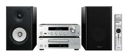 Onkyo CS-1045 CD Hi-Fi Mini-System Silber