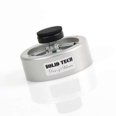 Solid Tech Disk of Silence, 4er Set SILBER 20-45 KG