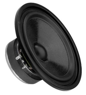 Monacor SPH 176 High-quality hi-fi bass-midrange speaker
