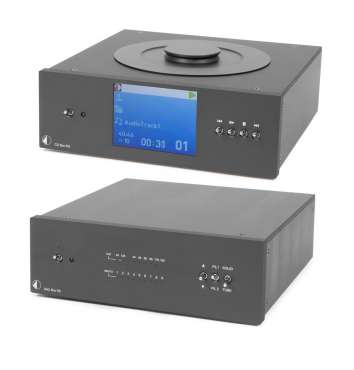 Pro-Ject CD Box + DAC Box RS Superpack schwarz