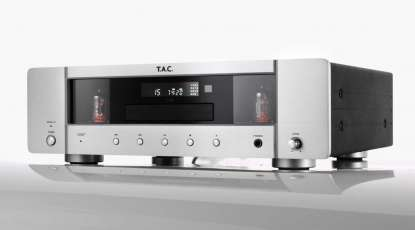 T.A.C. C 35 CD-Player silber