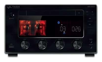 Taga HTR-1000CD V.2 Hybrid Stereo CD- Receiver with BT, USB and Toslink-DAC