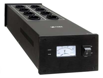Taga PC-5000 High End Netzleiste mit Konditionierer 8-fach,