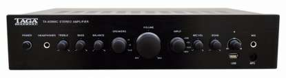 Taga TA-400MIC Stereo integrated Amplifier, black