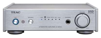 Teac AI-301 DA-X Vollverstärker mit DAC, USB, DSD, Bluetooth silber
