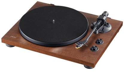 Teac TN-280 BT Plattenspieler, mit MM-System, Phono-Entzerrer und BT Ausgang Walnuss