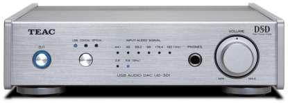 Teac UD-301-X USB Audio DAC Digital-Audio-Wandler silber