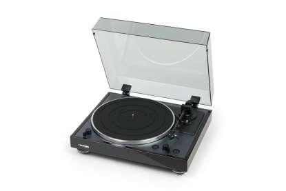 Thorens TD 102 A Plattenspieler mit MM Tonabnehmer und Phono Vorstufe