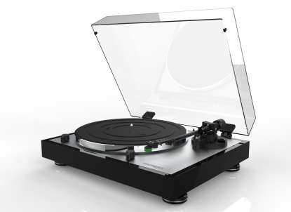 Thorens TD 402 DD Turntable with MM Cartridge and Phono preamplifier