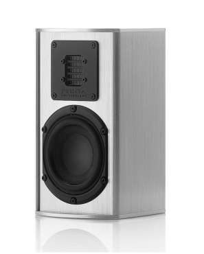 Piega T-Micro 40 AMT Speaker with AMT tweeters Alu silver