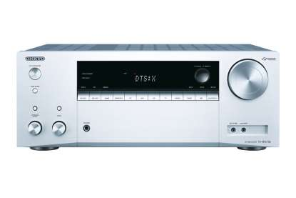 Onkyo TX-NR575E Network 7.2-Channel-AV-Receiver silver