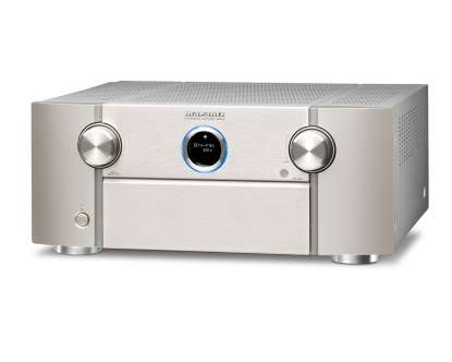 Marantz SR 8012 AV-Surround-Receiver 11.2-Chanel Full 4K Ultra HD with HEOS silver-gold
