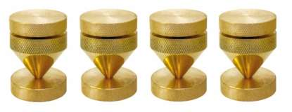 Dynavox Spikes with Washers brass