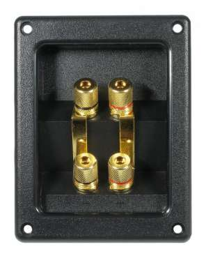 IT Biwiring Speaker Terminal T 122, Gold Plated