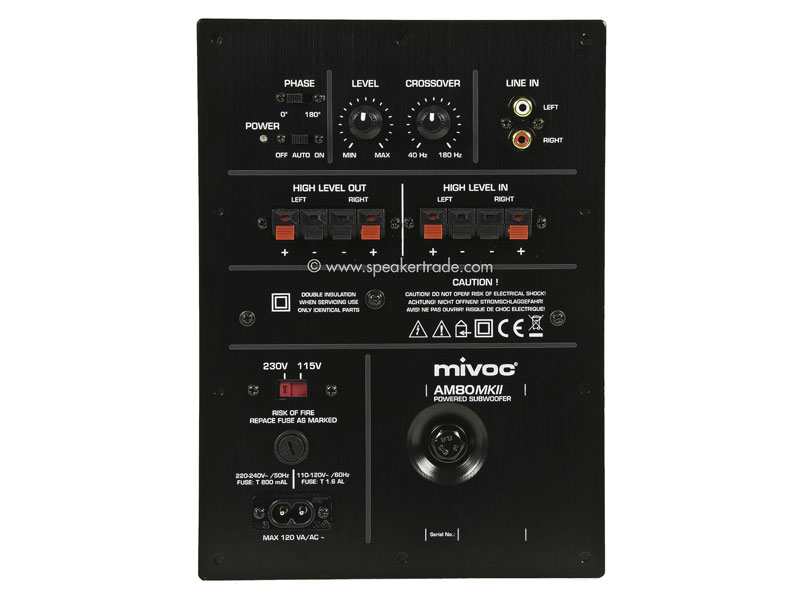 Mivoc AM  80 Mkii Subwoofer Active Module