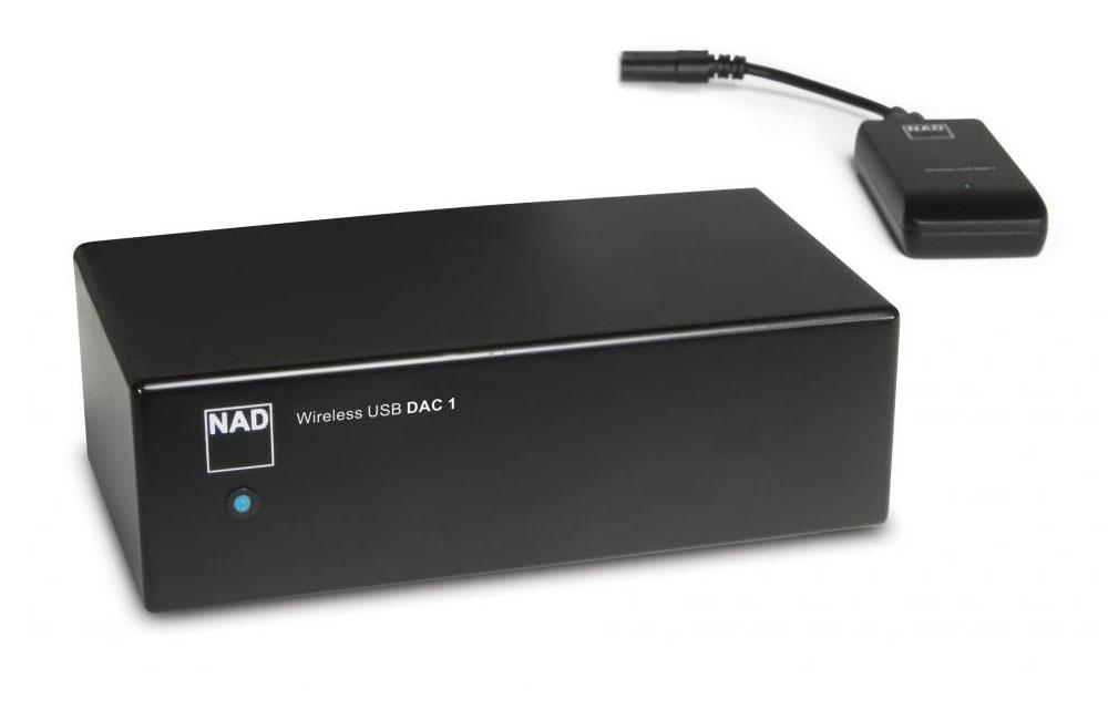 NAD USB DAC 2 Drahtloser Wandler, graphit