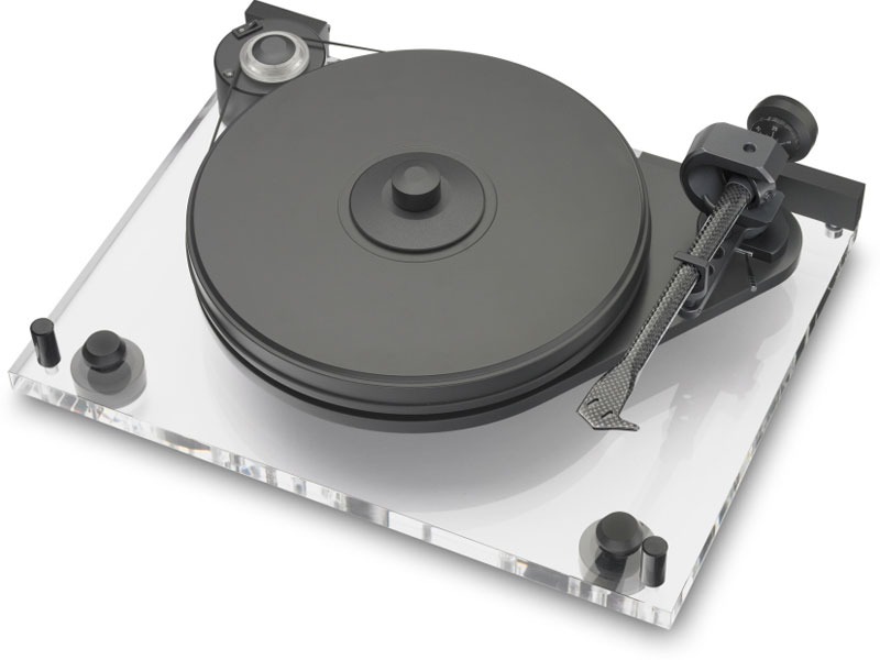 Pro-Ject Perspex ohne Tonabnehmer, Acryl
