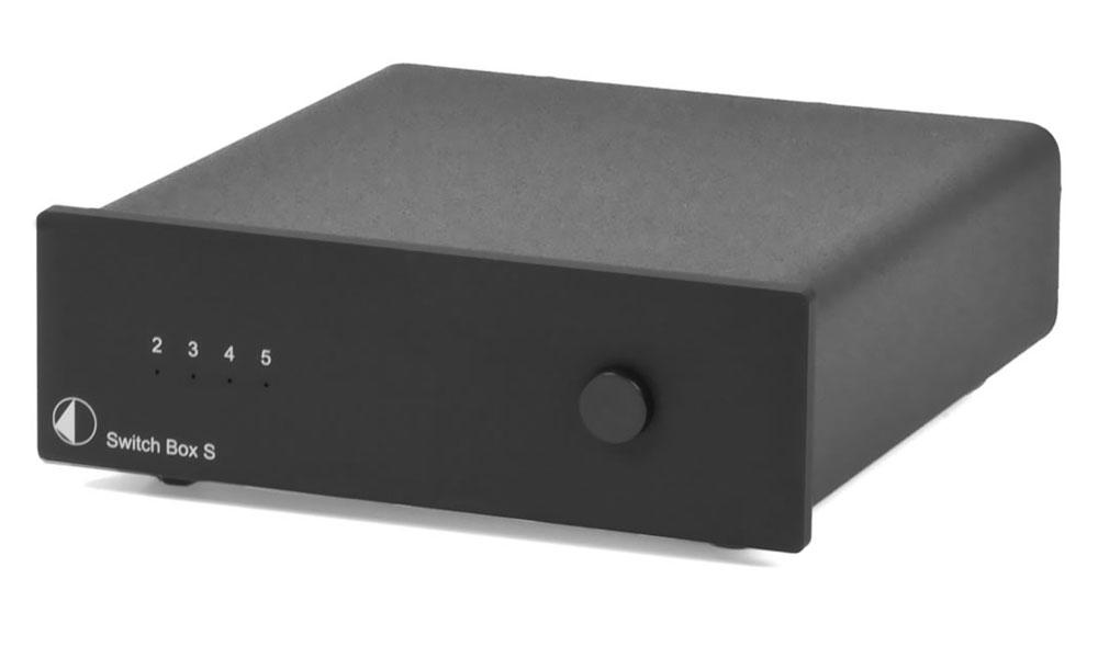 Pro-Ject Switch Box S schwarz