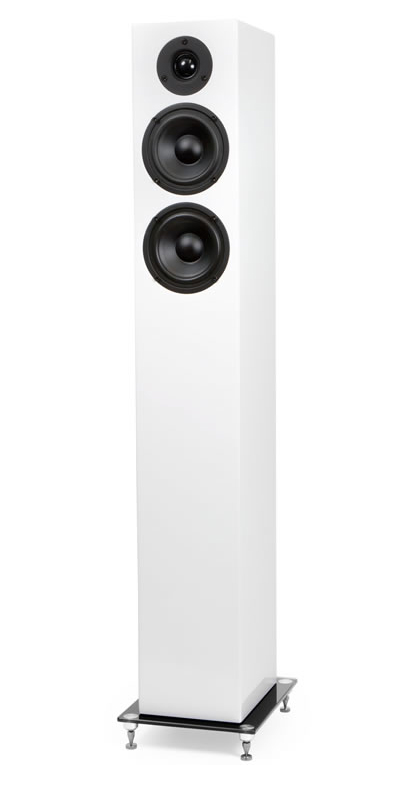 Pro-Ject Speaker Box 10 hochglanz weiss