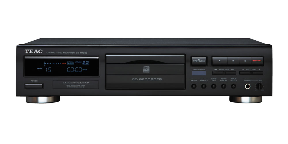 Teac CD-RW 890 MKII CD-Recorder, black