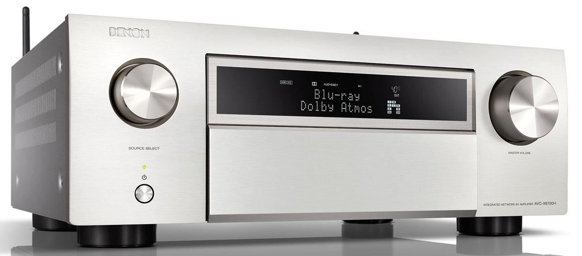 Denon AVC-X6700H 11.2 Kanal 8K-AV Receiver mit Amazon Alexa-Sprachsteuerung, silber (geprüfte Retoure)