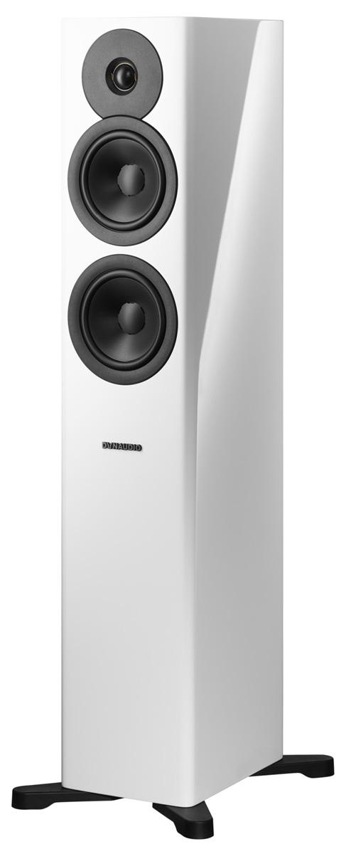 Dynaudio Evoke 30 Stand-Lautsprecher, hochglanz weiß (Demomodell)