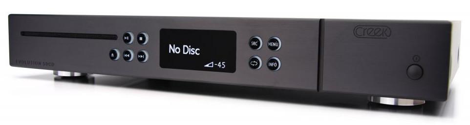 Creek Evolution 50 CD-Player incl. DA-Converter, black (Demododel)