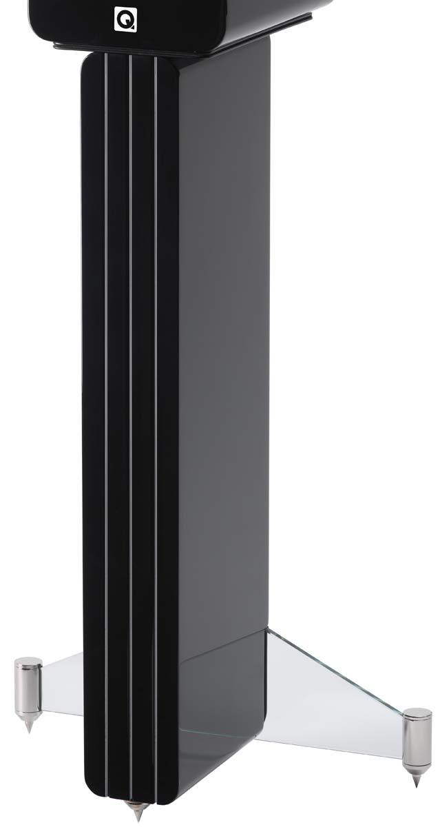 Q-Acoustics Concept Ständer (Paar) hochglanz schwarz