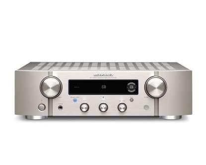 Marantz PM 7000 N Stereo-Vollverstärker mit HEOS Built-in, silber (geprüfte Retoure)