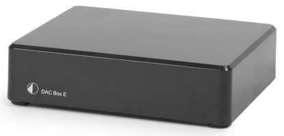 Pro-Ject DAC Box E DA-converter, black (checked return)