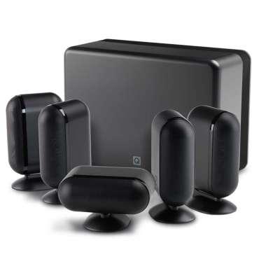 Q-Acoustics Q7000i Plus - 5.1 Heimkino System schwarz