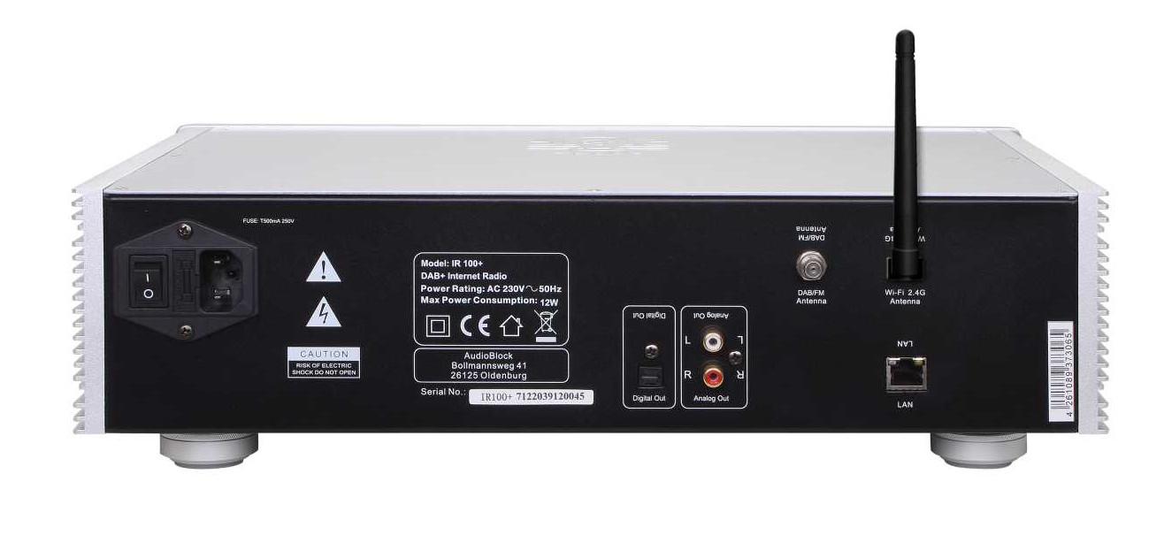 Block IR-100+ MKII WLAN-Internet-Radio mit DAB+ kaufen bei ...