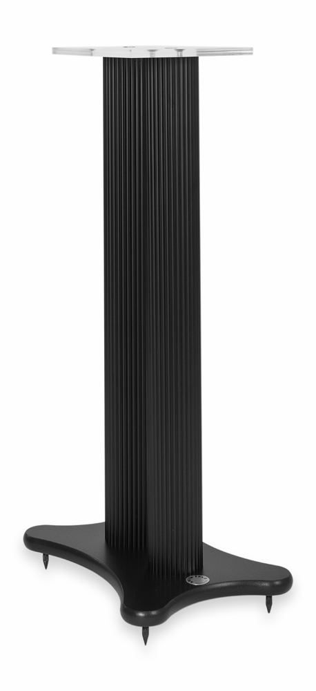 Solid Tech Radius 620 MM Speaker Stand, black base / black pillar (demonstration)