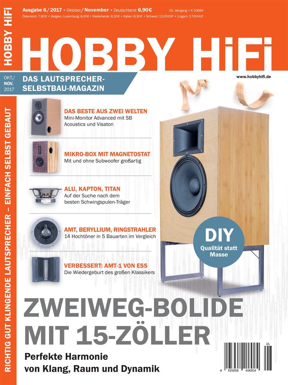 hobby hifi 2017 kaufen bei. Black Bedroom Furniture Sets. Home Design Ideas