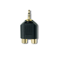 Inakustik Jack Plug Adapter 3,5 mm, gold plated