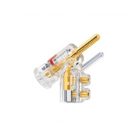 WBT-0610 CU Nextgen Banana Plug - TO 10MM², Gold