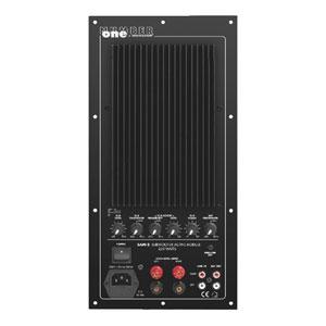 monacor sam 2 subwoofer active module the speaker specialist. Black Bedroom Furniture Sets. Home Design Ideas